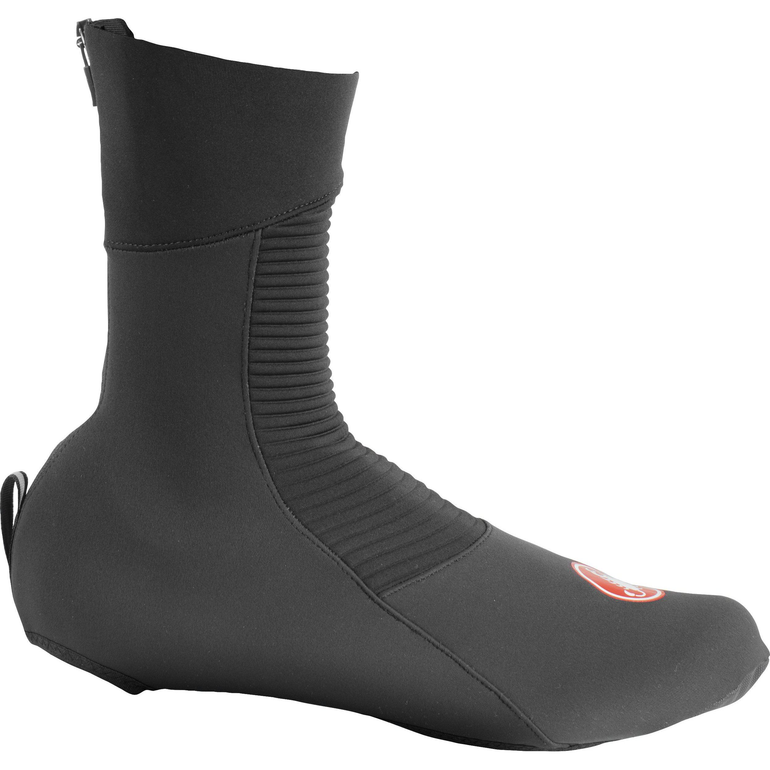 Castelli-Castelli Entrata Shoe Covers-Black-S-CS205390102-saddleback-elite-performance-cycling