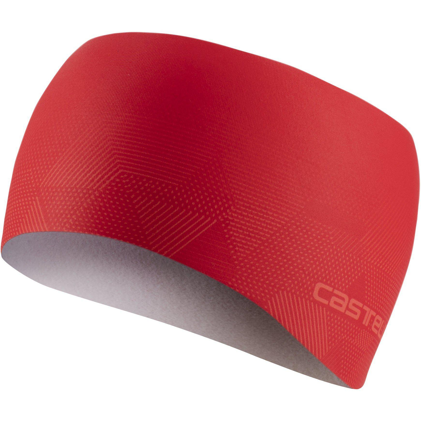 Castelli-Castelli Pro Thermal Headband-Red-UNI-CS205460238-saddleback-elite-performance-cycling