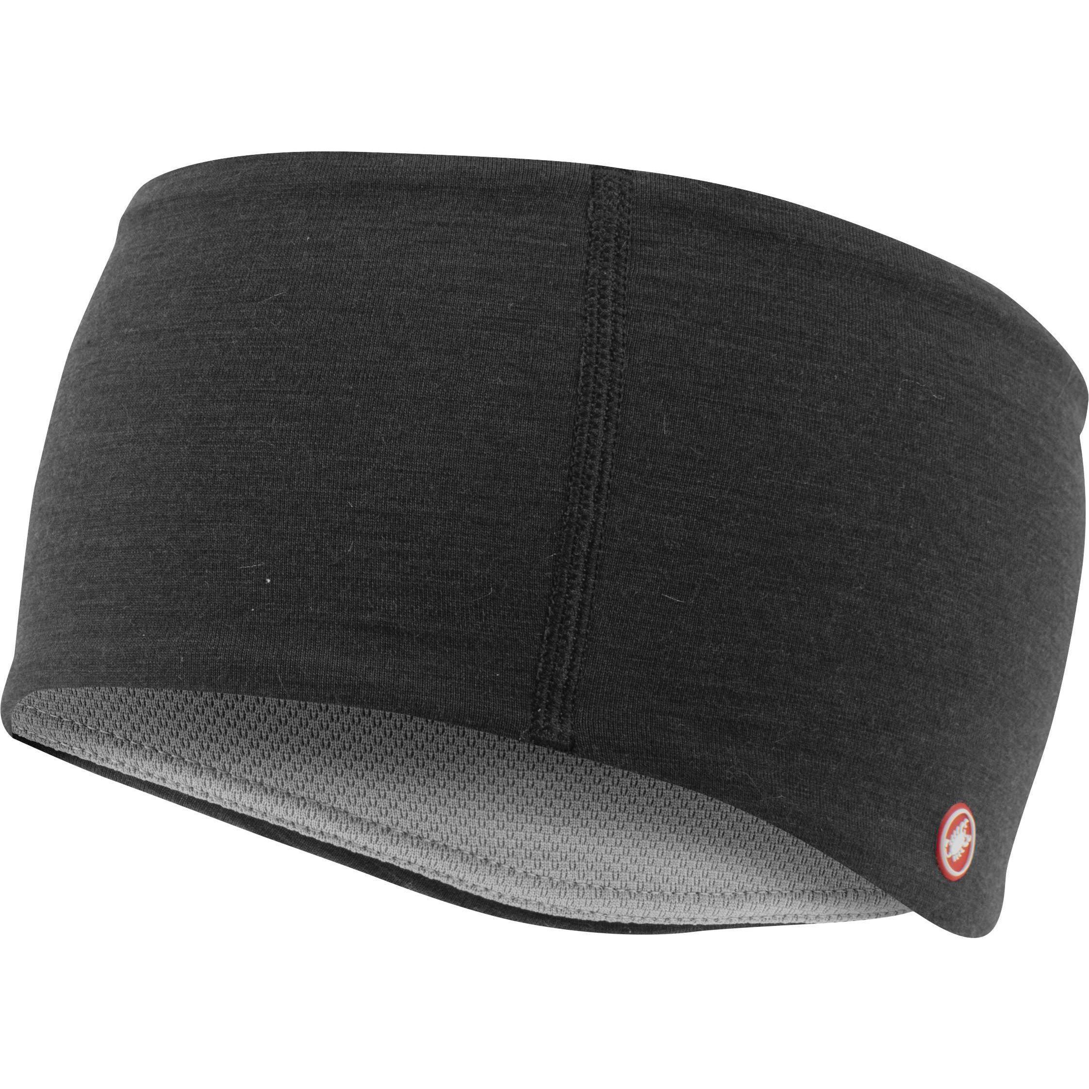 Castelli-Castelli Bandito Headband-Light Black-UNI-CS205470858-saddleback-elite-performance-cycling