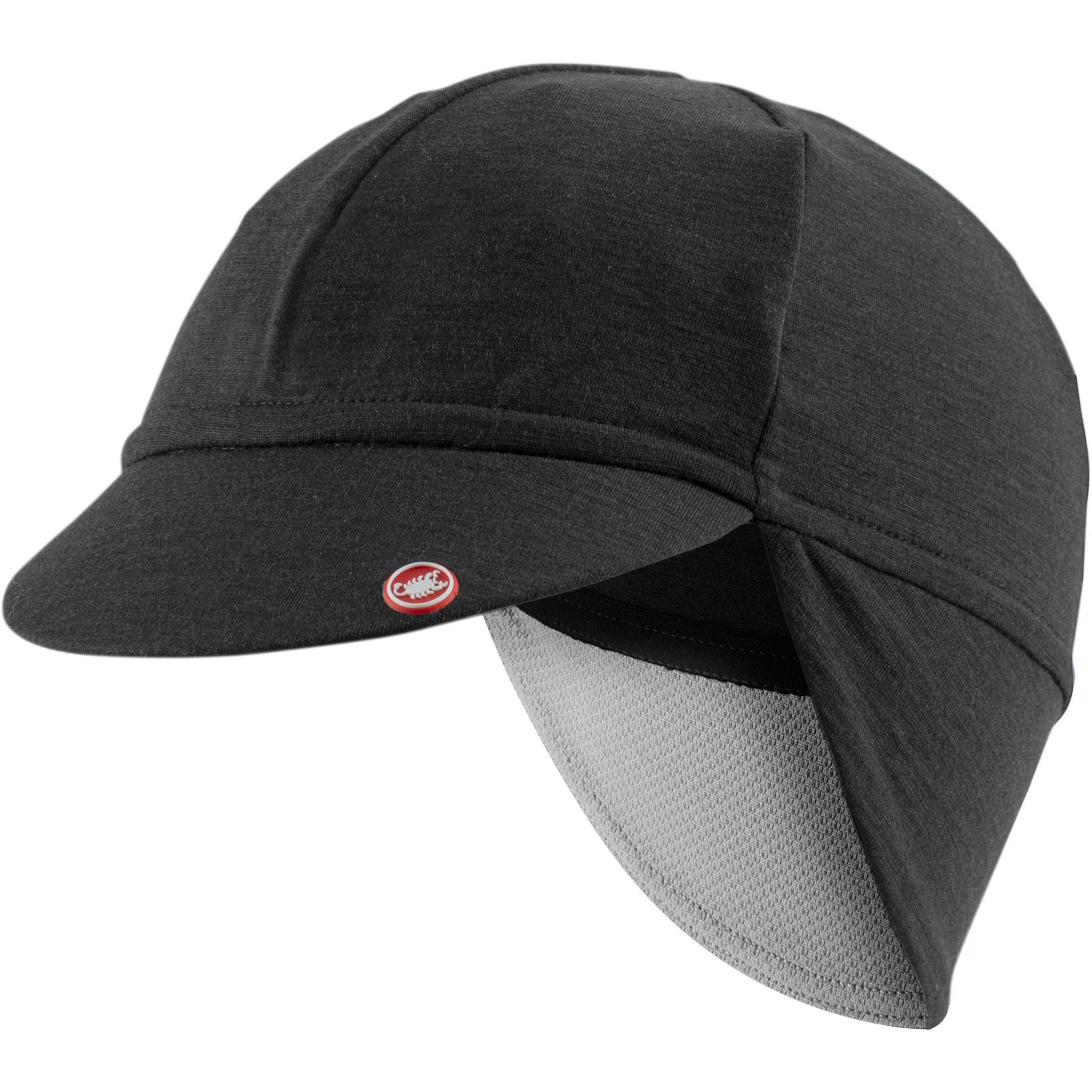 Castelli-Castelli Bandito Cap-Light Black-UNI-CS205480858-saddleback-elite-performance-cycling