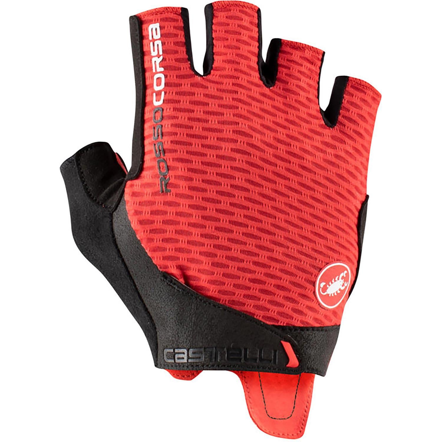 Castelli-Castelli Rosso Corsa Pro V Gloves-Red-XS-CS210240231-saddleback-elite-performance-cycling