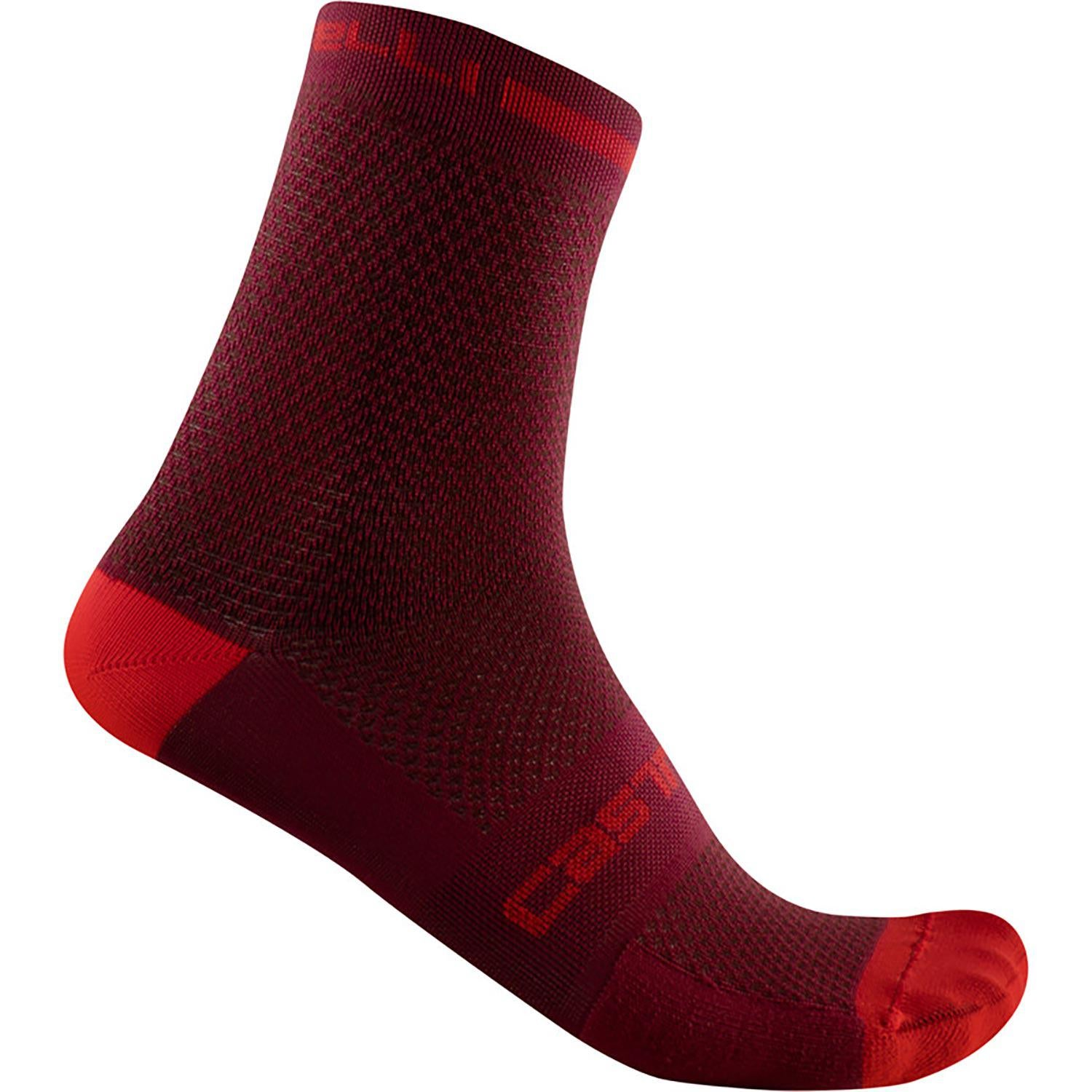 Castelli-Castelli Superleggera T 12 Socks-Bordeaux-S/M-CS2103042109-saddleback-elite-performance-cycling