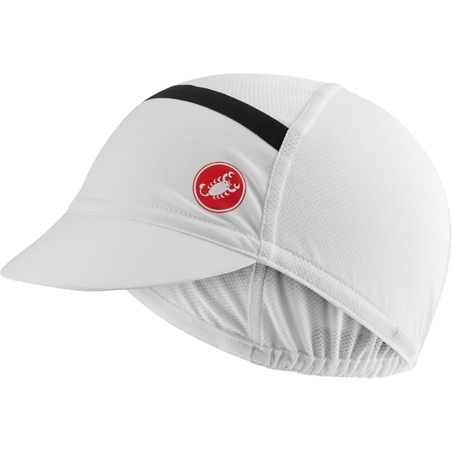 Castelli-Castelli Ombra Cycling Cap-White-UNI-CS210340018-saddleback-elite-performance-cycling