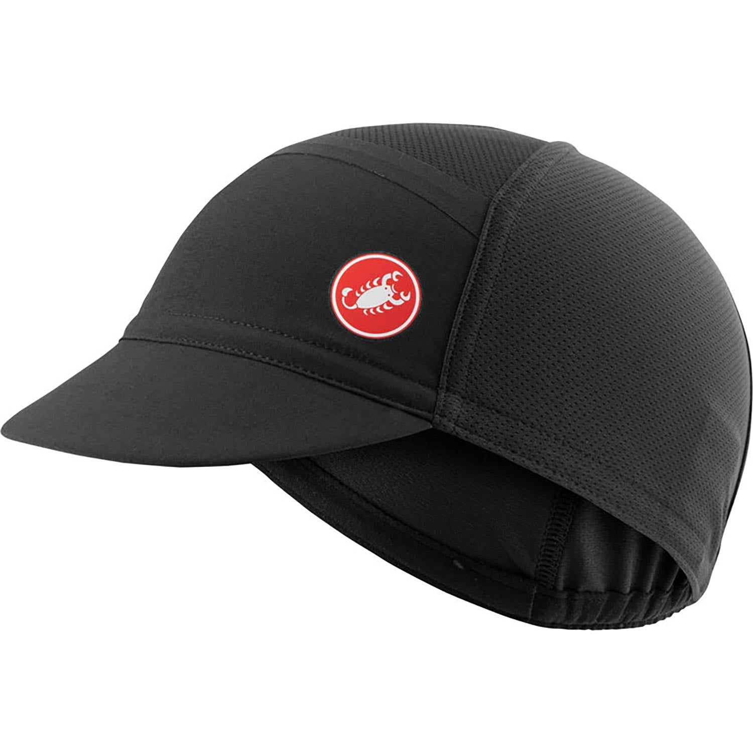 Castelli-Castelli Ombra Cycling Cap-Black-UNI-CS210340108-saddleback-elite-performance-cycling