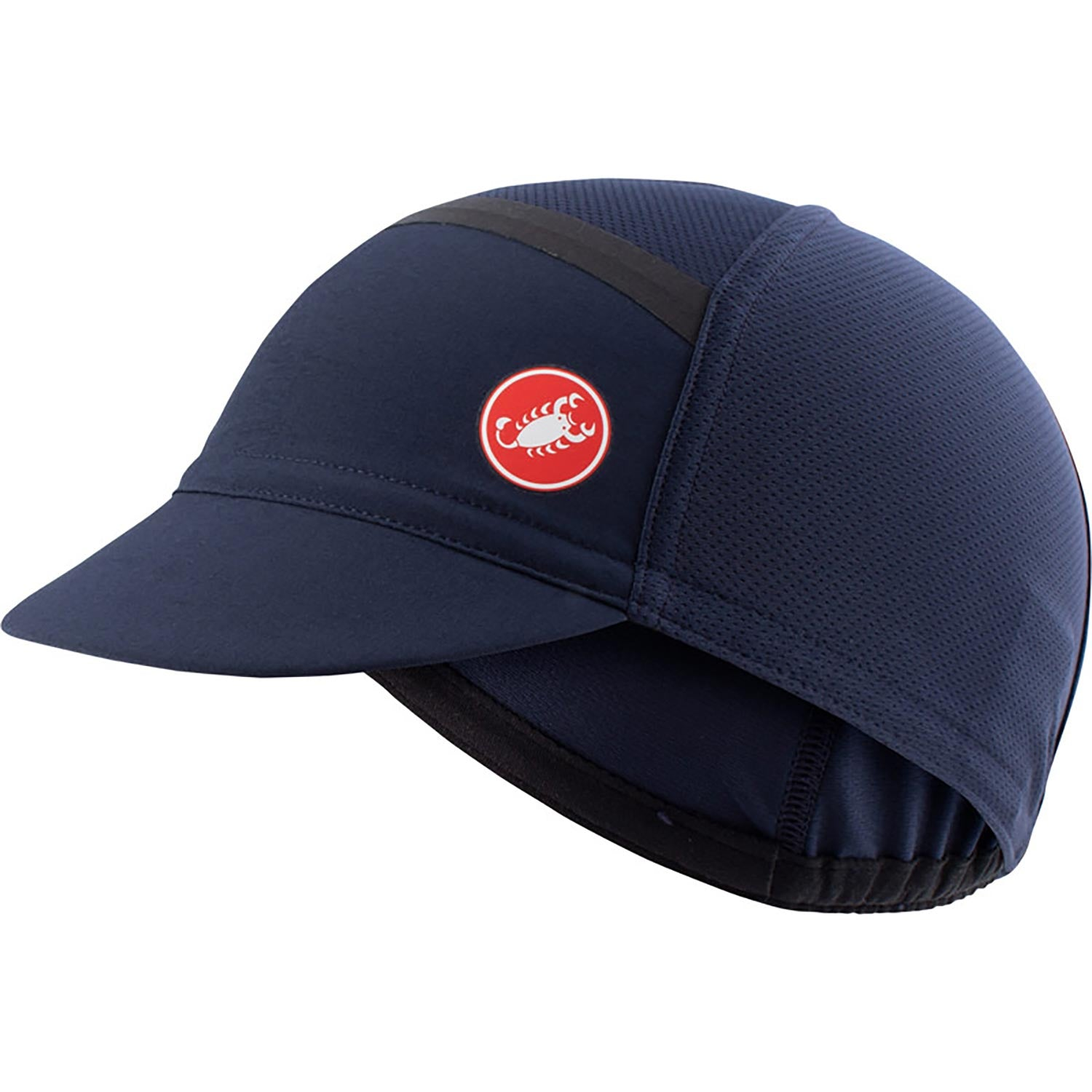 Castelli-Castelli Ombra Cycling Cap-Savile Blue-UNI-CS210344148-saddleback-elite-performance-cycling