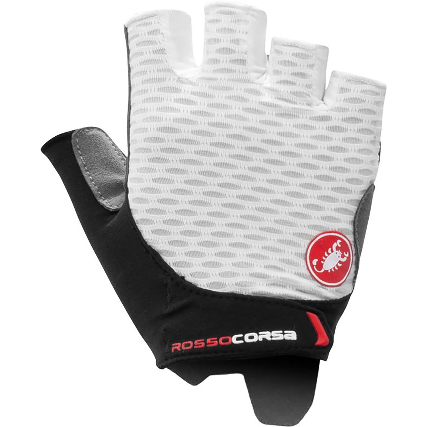 Castelli-Castelli Rosso Corsa 2 Women's Gloves-White-XS-CS210610011-saddleback-elite-performance-cycling
