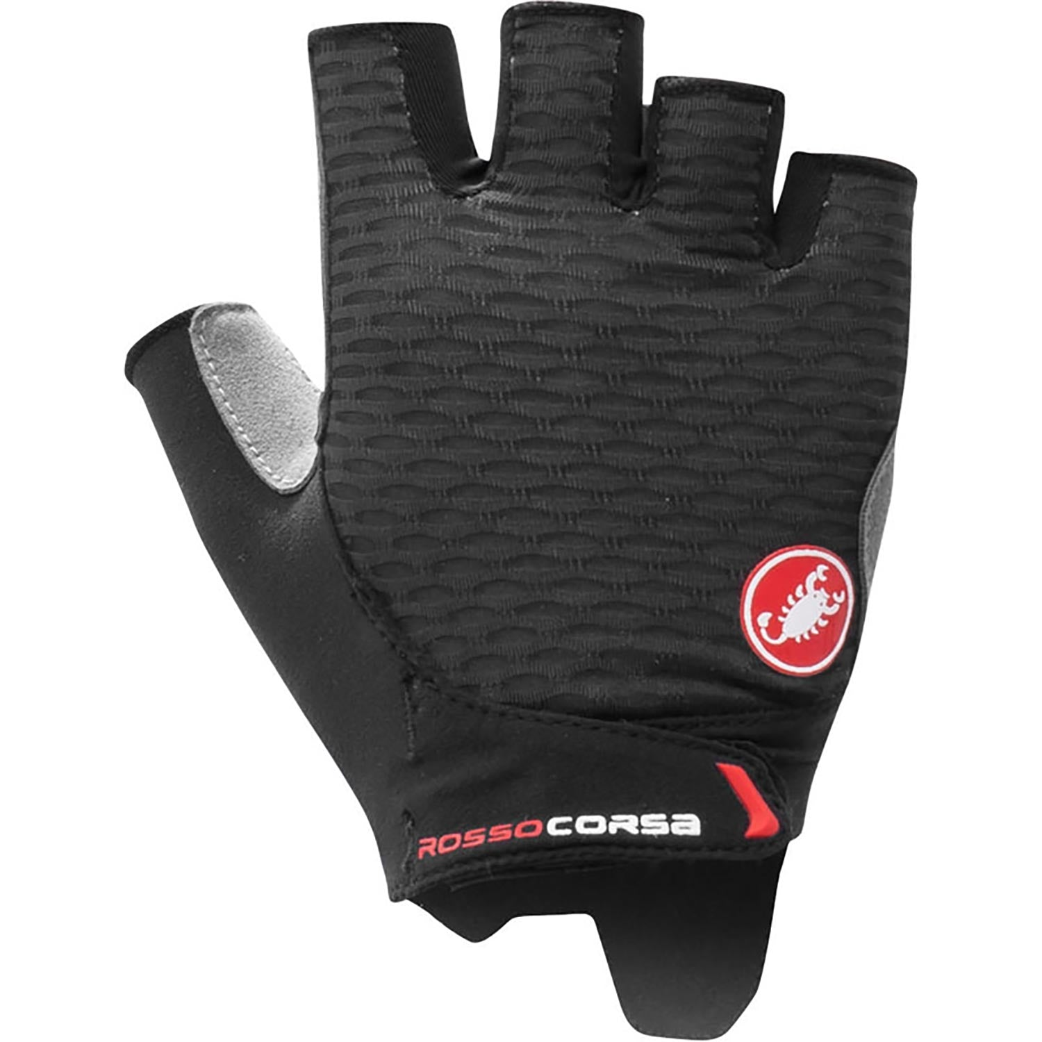 Castelli-Castelli Rosso Corsa 2 Women's Gloves-Black-XS-CS210610101-saddleback-elite-performance-cycling