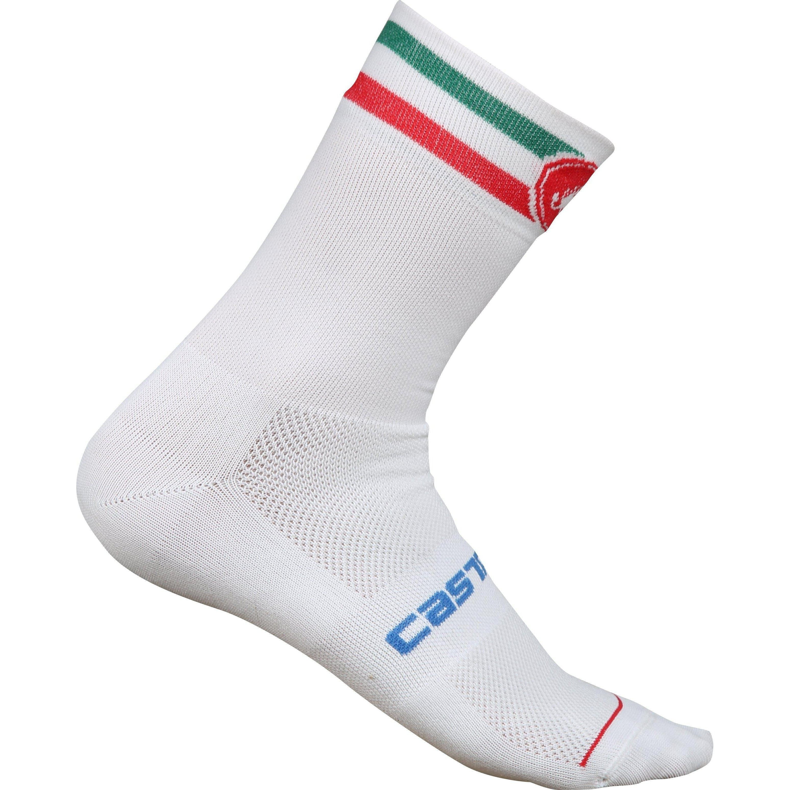 Castelli-Castelli Team Italia Socks - 2019-White-S/M-CS68080110019-saddleback-elite-performance-cycling