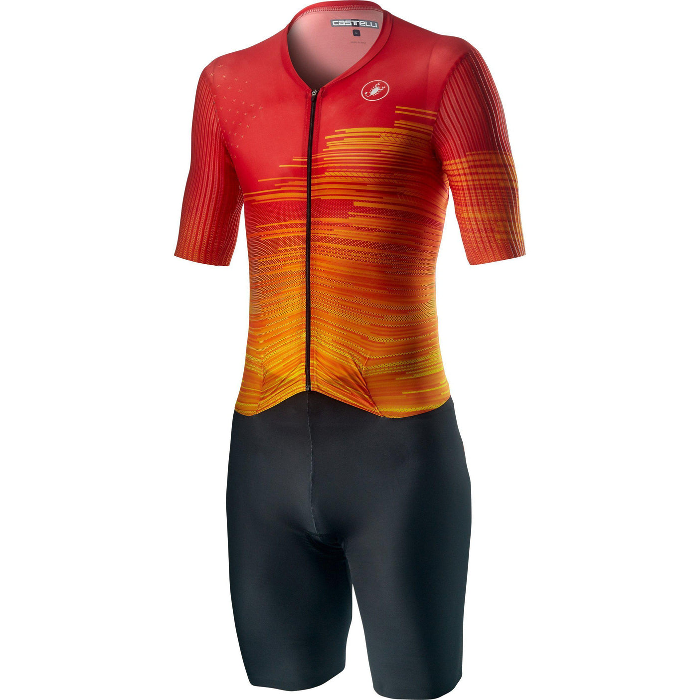 Castelli-Castelli PR Speed Suit-Fiery Red-S-CS200910512-saddleback-elite-performance-cycling