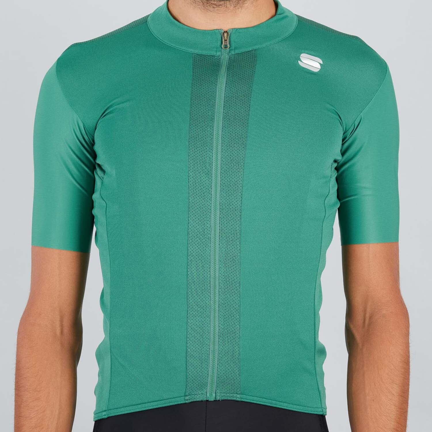 Sportful-Sportful Strike Jersey-Green Bottle/Black-XS-SF200123681-saddleback-elite-performance-cycling