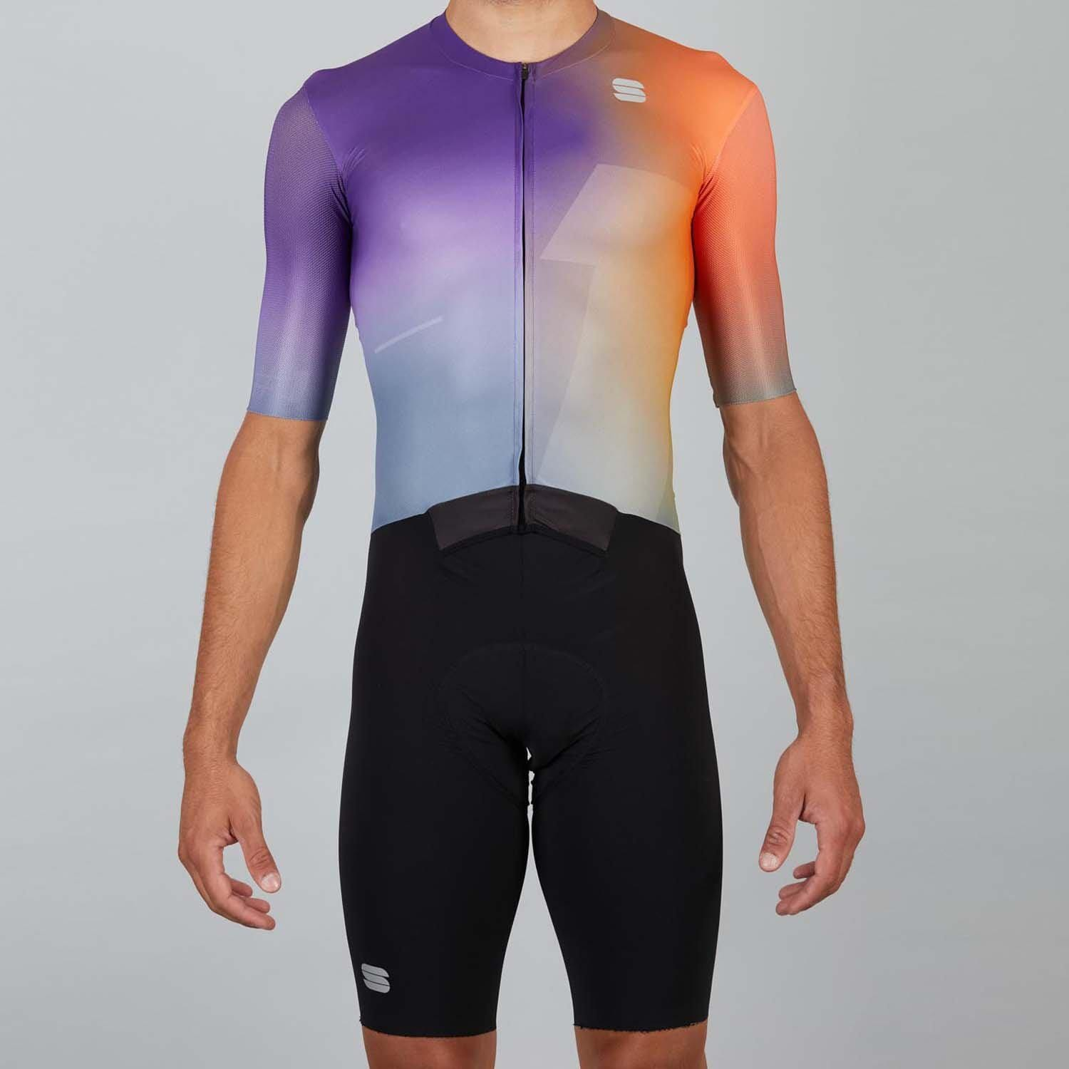 Sportful-Sportful Bomber Suit-Orange/Violet-S-SF210000012-saddleback-elite-performance-cycling
