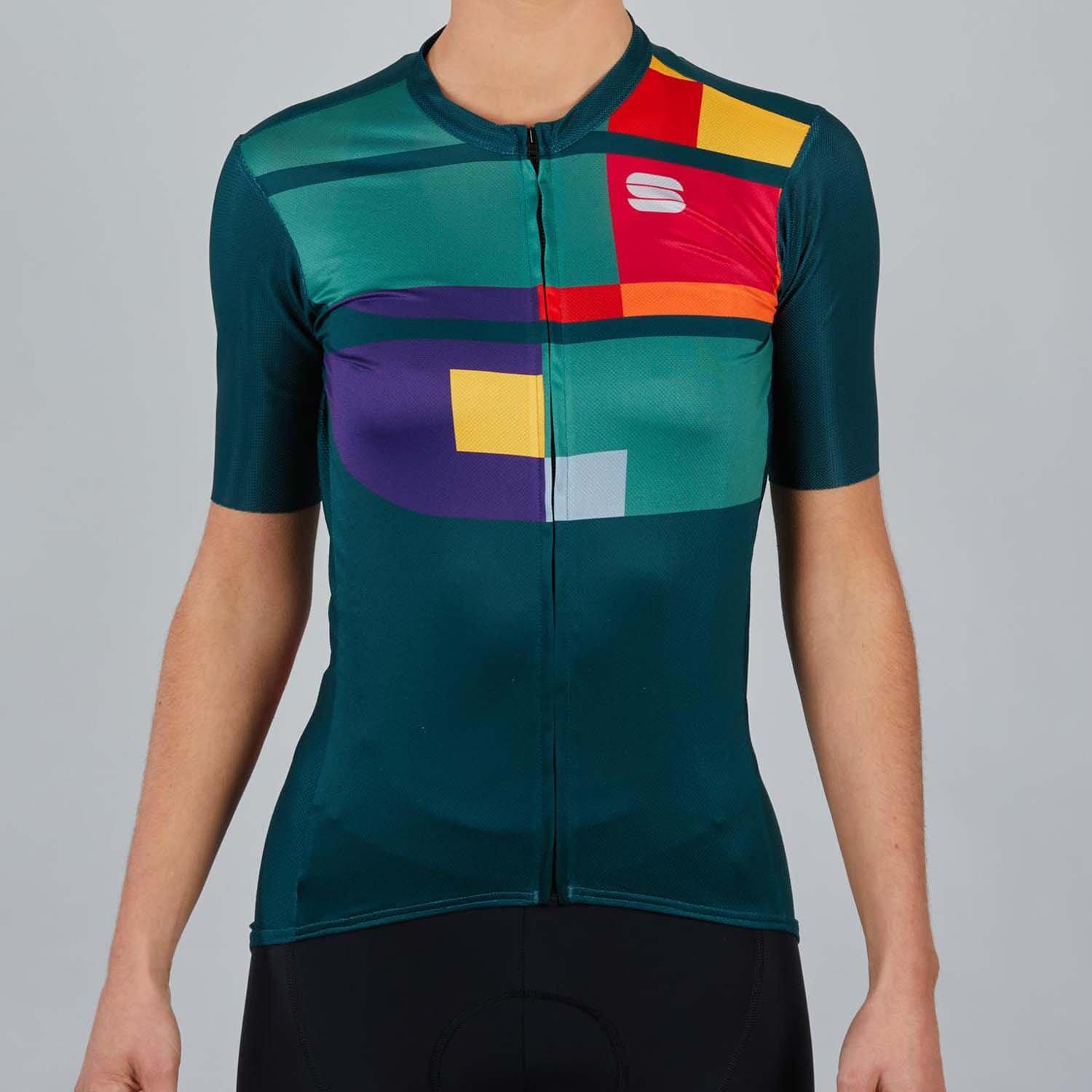 Sportful-Sportful Idea Women's Jersey-Sea Moss-XS-SF210823291-saddleback-elite-performance-cycling