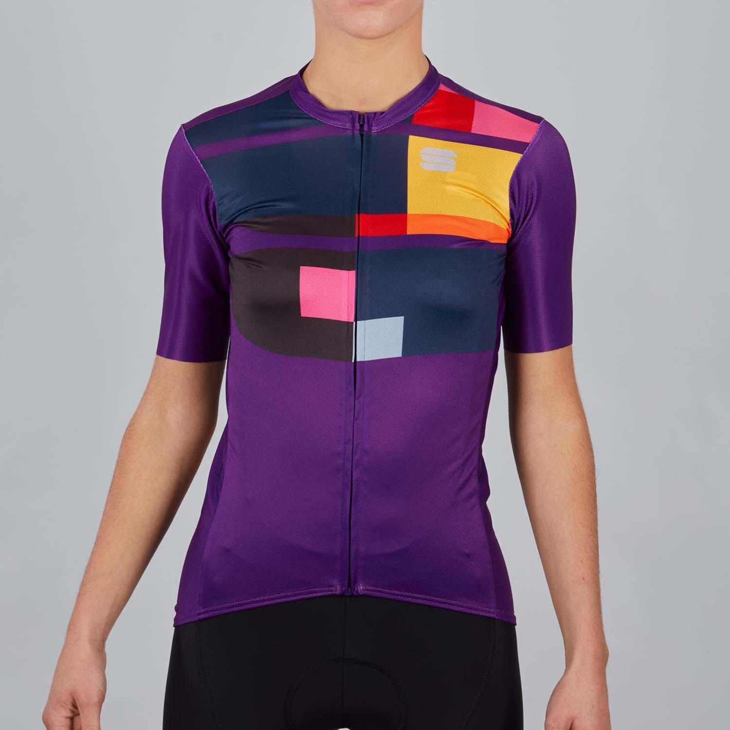 Sportful-Sportful Idea Women's Jersey-Violet-XS-SF210825081-saddleback-elite-performance-cycling