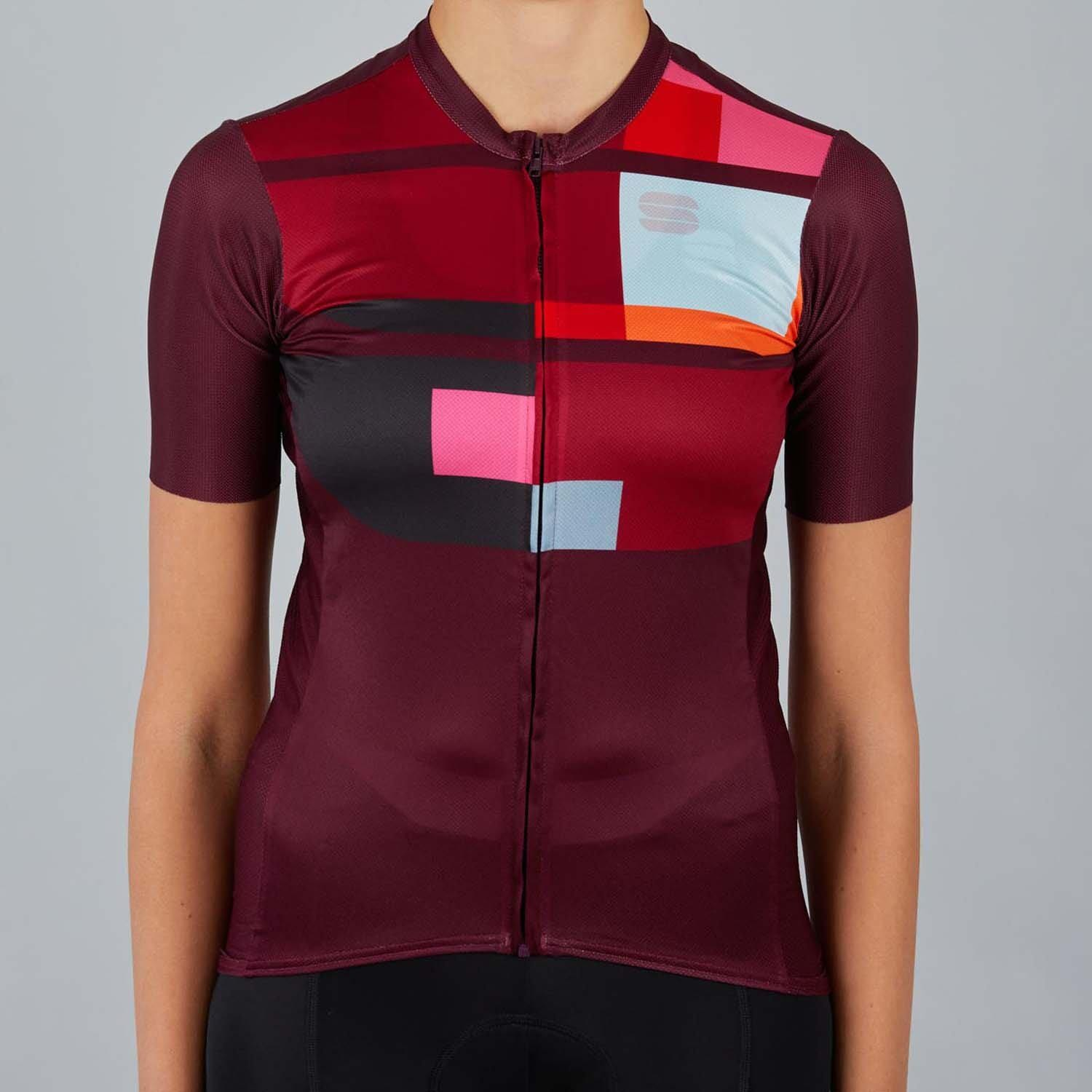 Sportful-Sportful Idea Women's Jersey-Red Wine-XS-SF210826051-saddleback-elite-performance-cycling