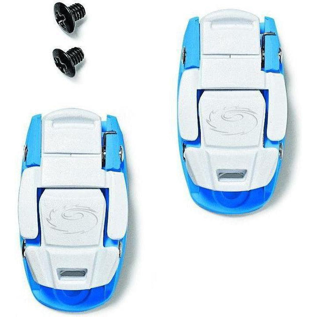 Sidi-Sidi Caliper Buckles-Blue/White-One Pair-SISPRLEVASD06BW-saddleback-elite-performance-cycling
