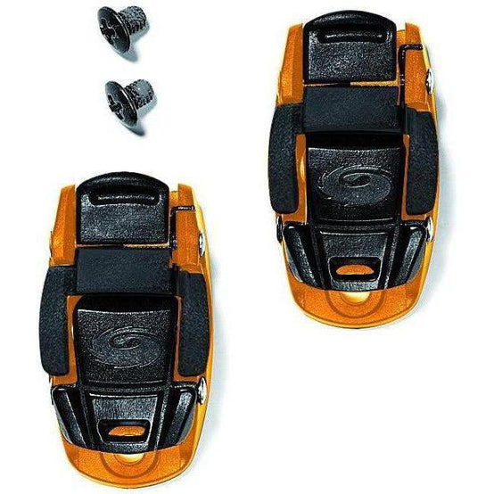 Sidi-Sidi Caliper Buckles-Orange/Black-One Pair-SISPRLEVASD06OB-saddleback-elite-performance-cycling