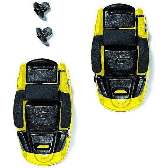 Sidi-Sidi Caliper Buckles-Yellow/Black-One Pair-SISPRLEVASD06YB-saddleback-elite-performance-cycling
