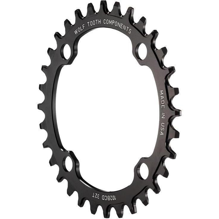 Wolf Tooth-Wolf Tooth 102 BCD Chainring for XTR M960-Black-32t-WT10232-saddleback-elite-performance-cycling