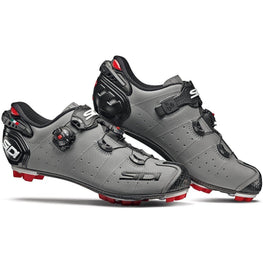 Sidi-Sidi Drako 2 SRS MTB Shoes - Matt-Matt Grey/Black-38-SIDRAKO2MATGROPNE38-saddleback-elite-performance-cycling