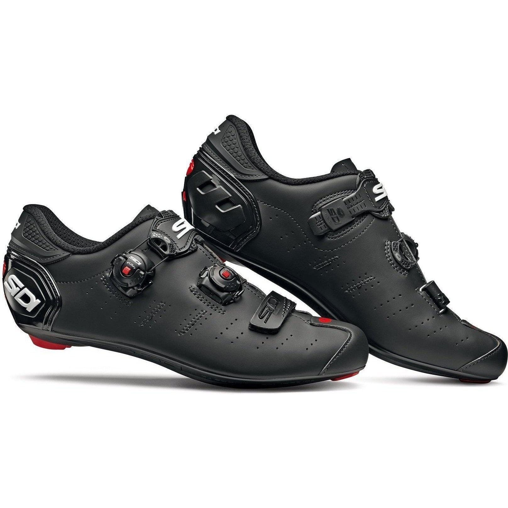 Sidi-Sidi Ergo 5 Road Shoes - Matt-Matt Black-38-SIERGO5MATNEOP38-saddleback-elite-performance-cycling