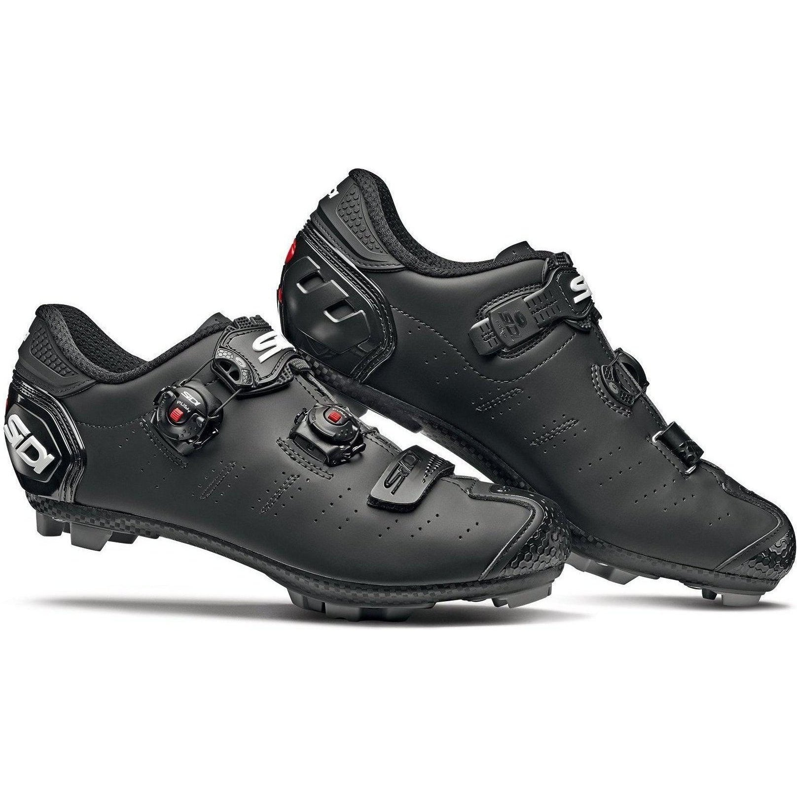 Sidi-Sidi Dragon 5 SRS MTB Shoes - Matt-Matt Black-39-SIDRAG5CMATNEOP39-saddleback-elite-performance-cycling