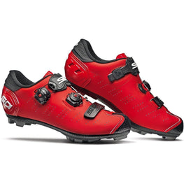 Sidi-Sidi Dragon 5 SRS MTB Shoes - Matt-Matt Red/Black-39-SIDRAG5CMATROOPNE39-saddleback-elite-performance-cycling