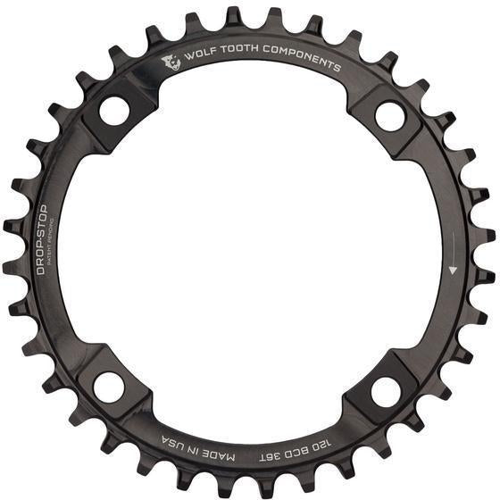 Wolf Tooth-Wolf Tooth 120 BCD Chainring-Black-38t-WT12038-saddleback-elite-performance-cycling