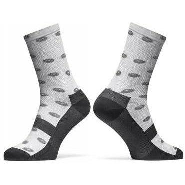 Sidi-Sidi Fun 15 Socks-S/M - 36/40-White/Grey-SIPCAFUN15A3640-saddleback-elite-performance-cycling