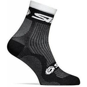 Sidi-Sidi Run Socks-35/39-Black-SIPCARUNA3539-saddleback-elite-performance-cycling