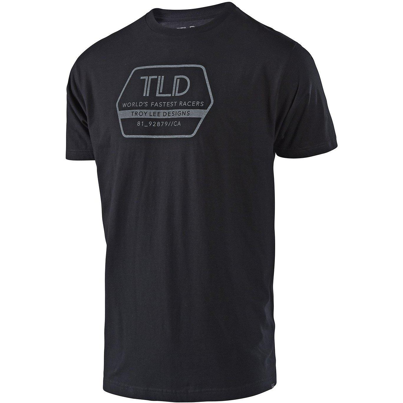Troy Lee Designs-Troy Lee Designs Factory T-Shirt-Black-S-TLD701008292-saddleback-elite-performance-cycling