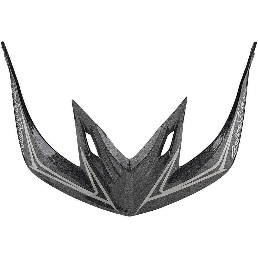 Troy Lee Designs-Troy Lee Designs A2 Helmet Replacement Visor-PINSTRIPE 2 GRAY-2018-TLD185584900-saddleback-elite-performance-cycling