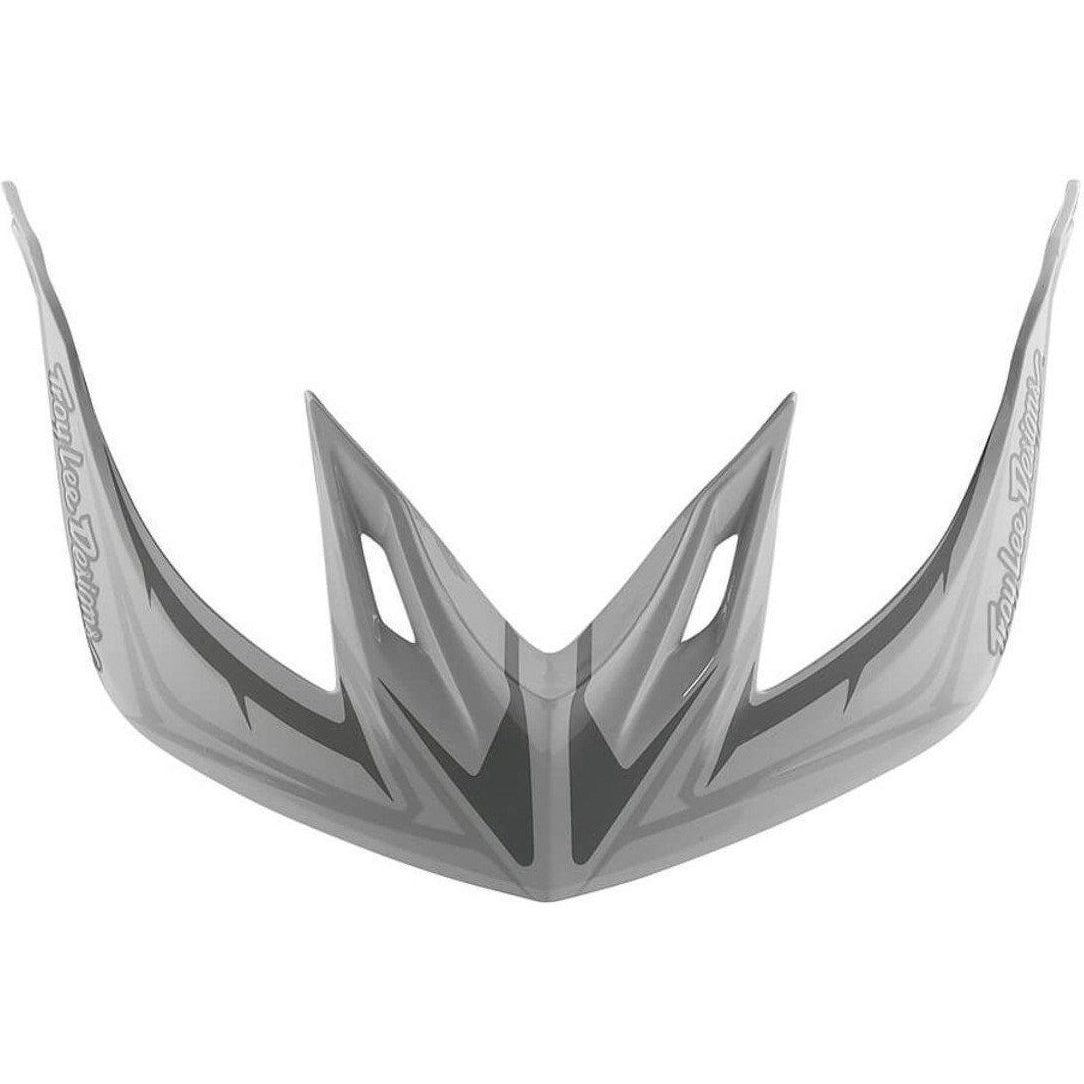 Troy Lee Designs-Troy Lee Designs A2 Helmet Replacement Visor-PINSTRIPE 2 WHITE-2018-TLD185584110-saddleback-elite-performance-cycling