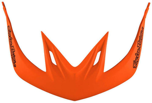 Troy Lee Designs-Troy Lee Designs A2 Helmet Replacement Visor-STARBURST ORANGE-2018-TLD185013320-saddleback-elite-performance-cycling