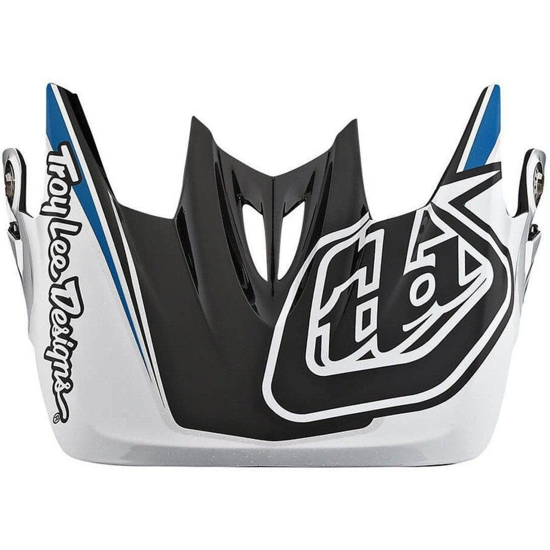 Troy Lee Designs-Troy Lee Designs D3 Helmet Replacement Visor-MIRAGE OCEAN-D3 Carbon-TLD157580300-saddleback-elite-performance-cycling