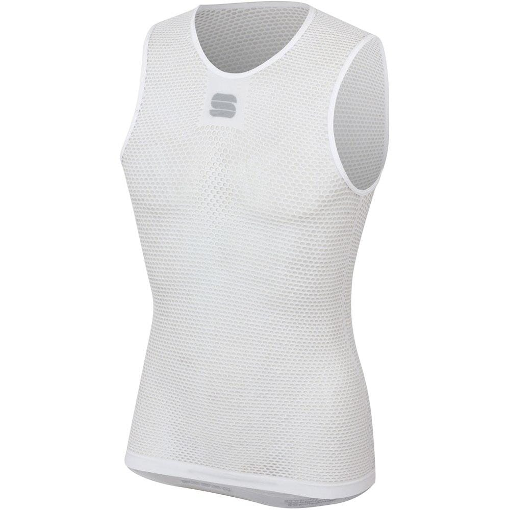 Sportful-Sportful 2nd Skin X-Lite Evo Sleeveless Base Layer-White-S/M-SF0032510109-saddleback-elite-performance-cycling