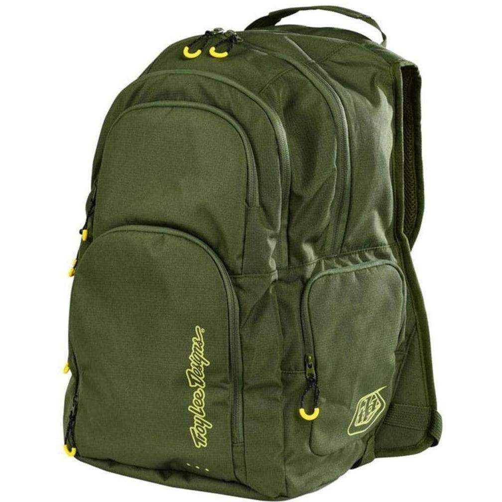 Troy Lee Designs-Troy Lee Designs Genesis Backpack-ARMY GREEN-Uni-TLD608003800-saddleback-elite-performance-cycling