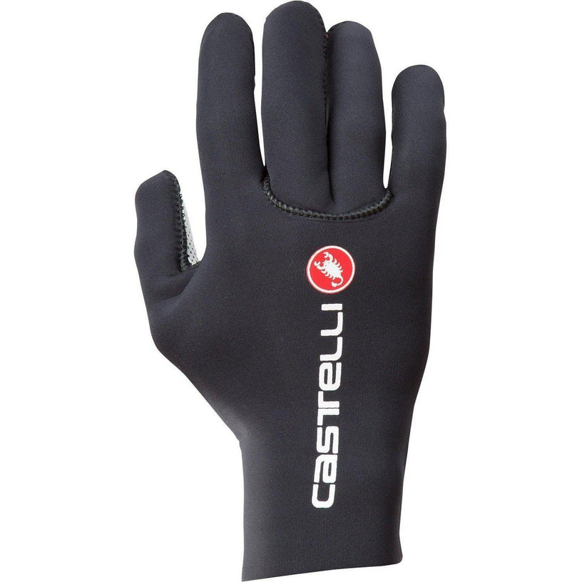 Castelli-Castelli Diluvio C Gloves-Black-S/M-CS1752401009-saddleback-elite-performance-cycling
