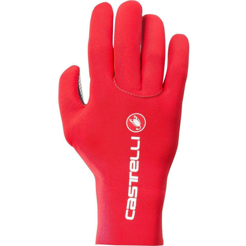 Castelli-Castelli Diluvio C Gloves-Red-S/M-CS1752402309-saddleback-elite-performance-cycling