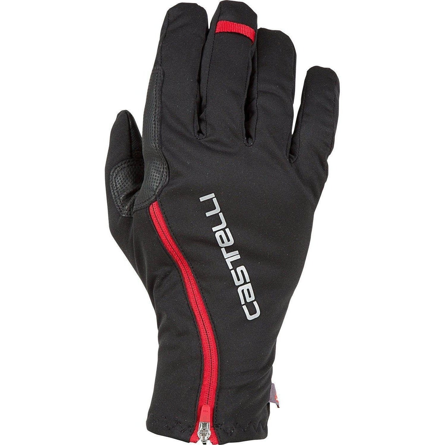 Castelli-Castelli Spettacolo RoS Gloves-Black/Red-XS-CS185260101-saddleback-elite-performance-cycling