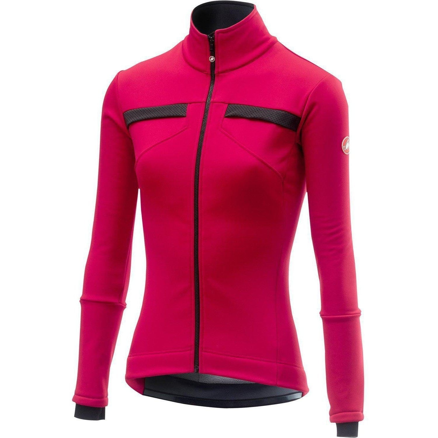Castelli-Castelli Dinamica Jacket-Electric Magenta-XS-CS185410271-saddleback-elite-performance-cycling