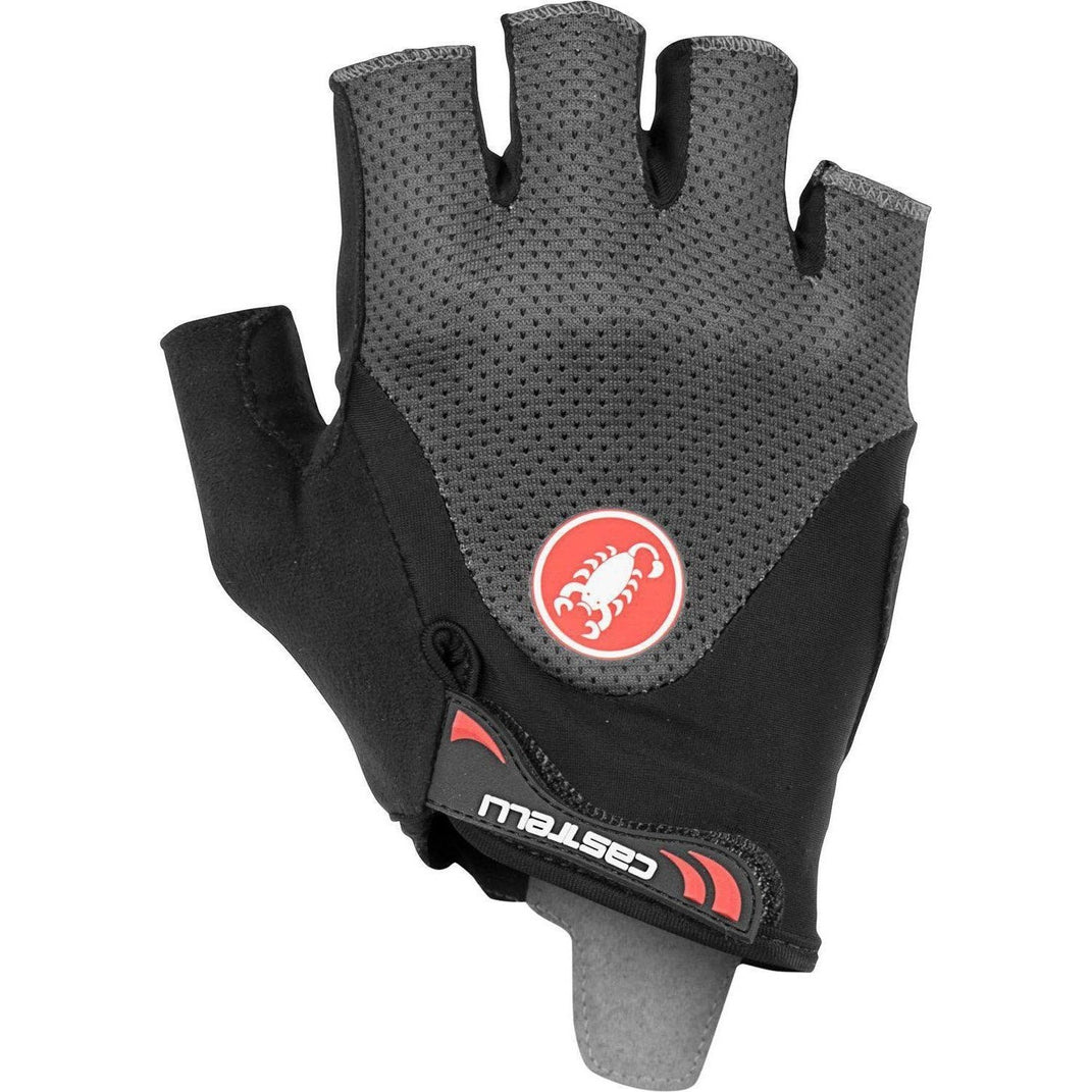 Castelli-Castelli Arenberg Gel 2 Gloves-Dark Gray-XS-CS190280301-saddleback-elite-performance-cycling