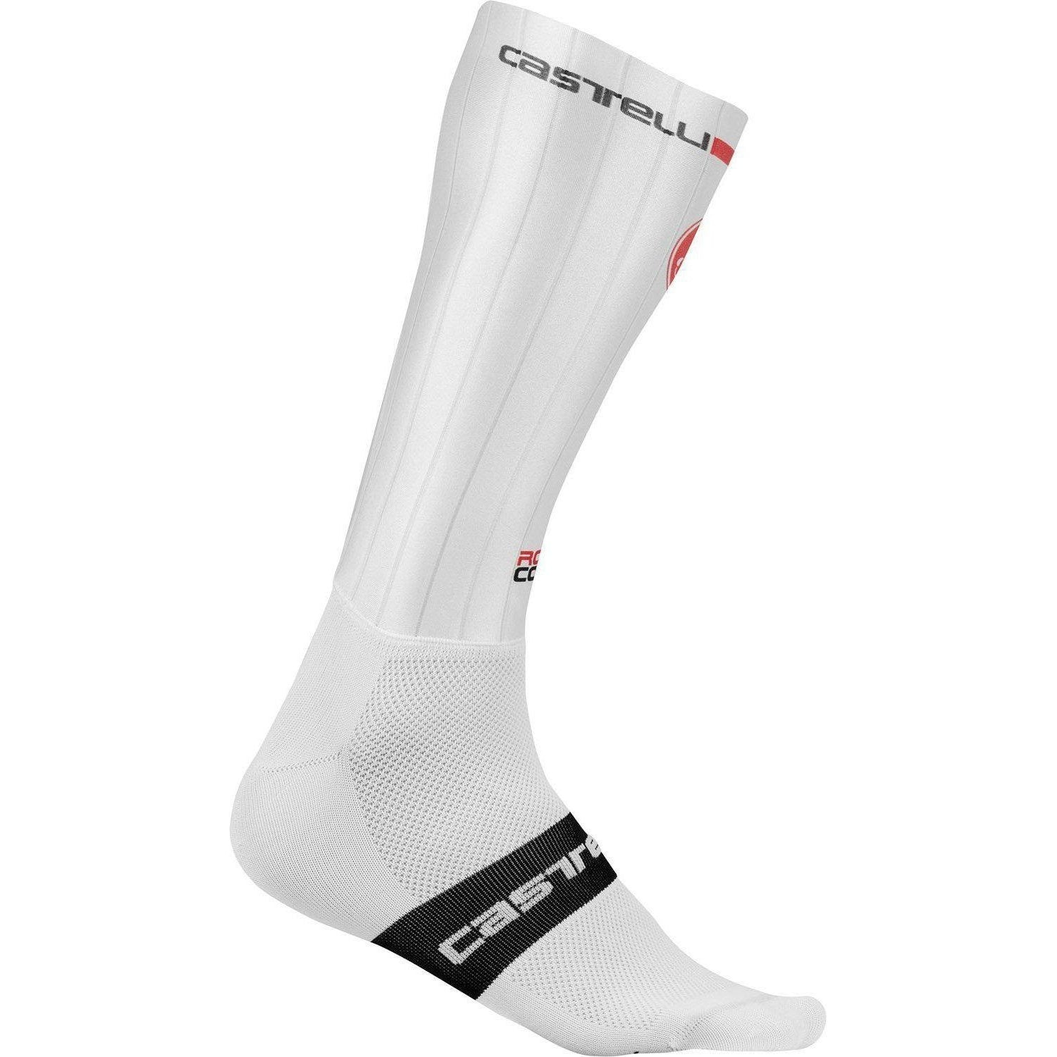 Castelli-Castelli Fast Feet Socks-White-S/M-CS1903200109-saddleback-elite-performance-cycling