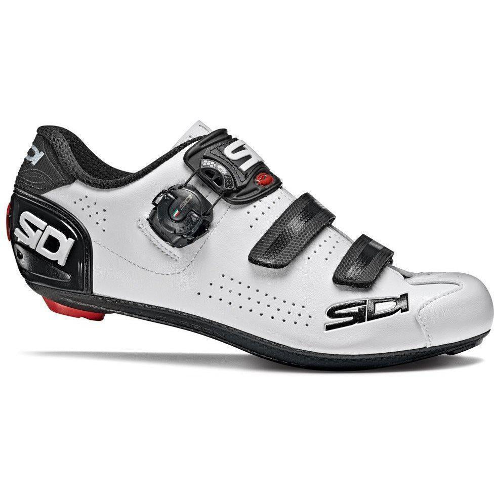 Sidi-Sidi Alba 2 Road Shoes-36-White/Black-SIALBA2BINE36-saddleback-elite-performance-cycling