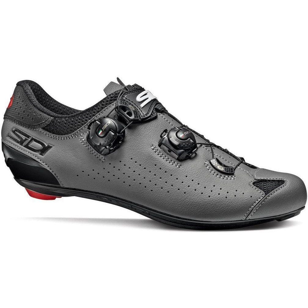 Sidi-Sidi Genius 10 Road Shoes-36-Black/Grey-SIGENIUS10NEGR36-saddleback-elite-performance-cycling