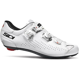 Sidi-Sidi Genius 10 Road Shoes-36-White/White-SIGENIUS10BIBI36-saddleback-elite-performance-cycling