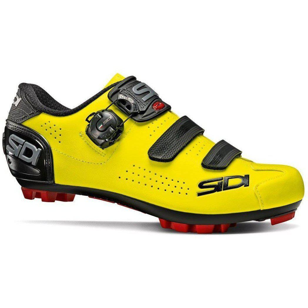 Sidi-Sidi Trace 2 MTB Shoes-36-Yellow Fluo/Black-SITRACE2GIFLNE36-saddleback-elite-performance-cycling