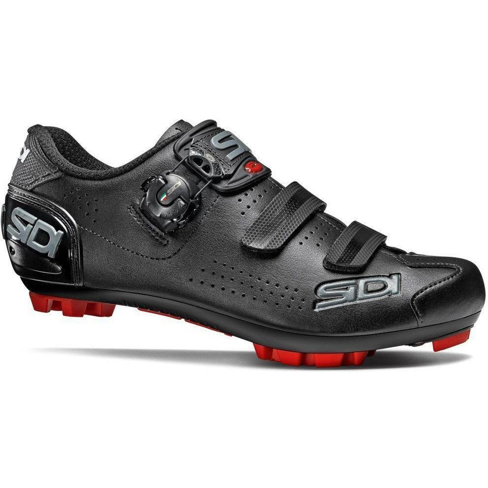 Sidi-Sidi Trace 2 Mega MTB Shoes-40-Black/Black-SITRACE2MNENE40-saddleback-elite-performance-cycling