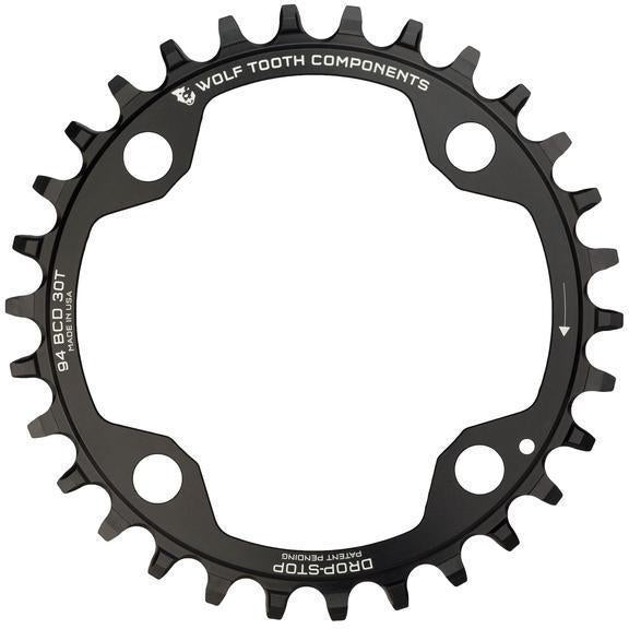 Wolf Tooth-Wolf Tooth 94 BCD SRAM X1 Chainring-Black-34t-WTSR49434-saddleback-elite-performance-cycling
