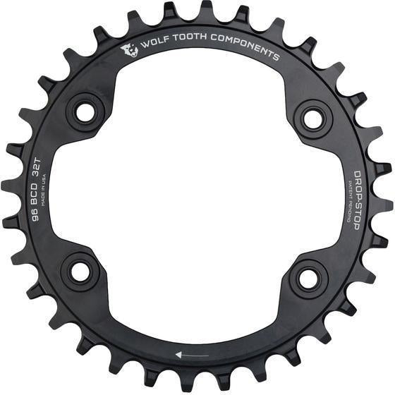 Wolf Tooth-Wolf Tooth 96 BCD M9000/M9020 Chainring-Black-36t-WTXTR9636-saddleback-elite-performance-cycling