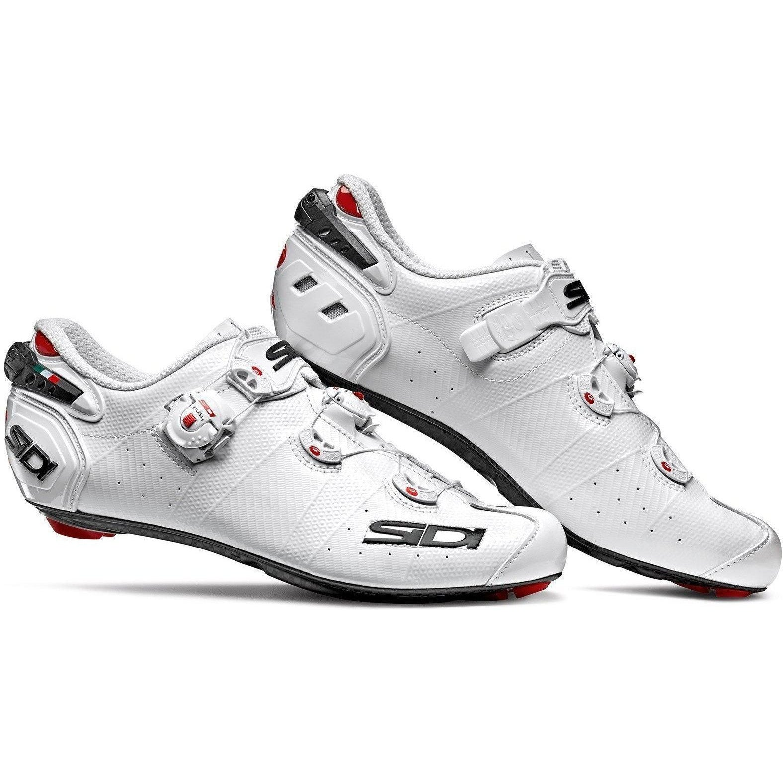 Sidi-Sidi Wire 2 Carbon Road Shoes-White/White-38-SIWIRE2CBIBI38-saddleback-elite-performance-cycling